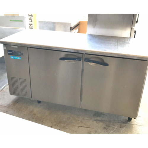 【中古】冷蔵コールドテーブル 大和冷機 5861CD-NP 幅1500×奥行600×高さ800 【送料別途見積】【業務用】