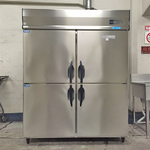 【中古】4ドア 冷凍冷蔵庫 ダイワ 563S2-4 幅1500×奥行800×高さ1905 【送料別途見積】【業務用】