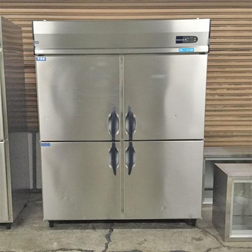 【中古】4ドア 冷凍冷蔵庫 大和冷機 563S2-4 幅1500×奥行800×高さ1900 三相200V 【送料別途見積】【業務用】