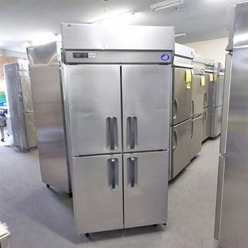 【中古】4ドア縦型冷蔵庫 パナソニック(Panasonic) SRR-J981VSA 幅900×奥行800×高さ1880 【送料別途見積】【業務用】