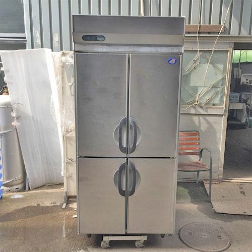【中古】縦型冷凍庫 三洋電機 SRF-G983S 幅900×奥行800×高さ1950 三相200V 【送料別途見積】【業務用】