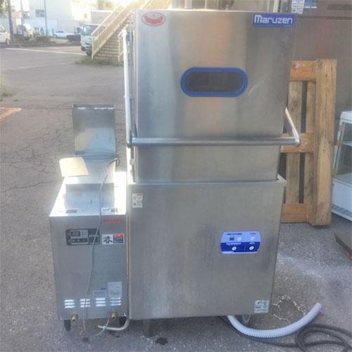【中古】食器洗浄機 マルゼン MDDB7E 幅640×奥行670×高さ1445 三相200V 【送料別途見積】【業務用】