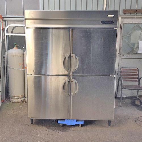 【中古】4ドア縦型冷凍冷蔵庫 フクシマガリレイ(福島工業) URN-152PM5 幅1500×奥行650×高さ1940 【送料別途見積】【業務用】