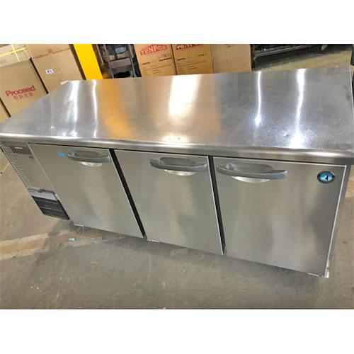 【中古】冷凍冷蔵コールドテーブル ホシザキ RFT-180SDF 幅1800×奥行750×高さ800 【送料無料】【業務用】