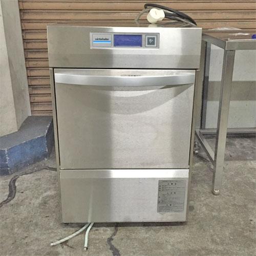 【中古】食器洗浄機 架台付き ウインターハルター UC-LENERGY 幅600×奥行600×高さ910 三相200V 【送料別途見積】【業務用】