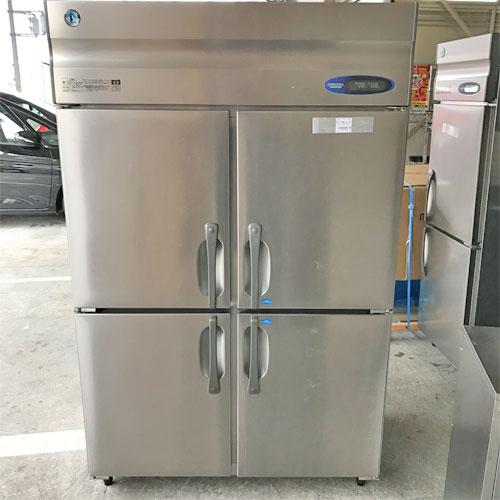 【中古】縦型冷凍冷蔵庫 2凍2蔵 ホシザキ HRF-120FT3 幅1200×奥行650×高さ1890 三相200V 【送料別途見積】【業務用】