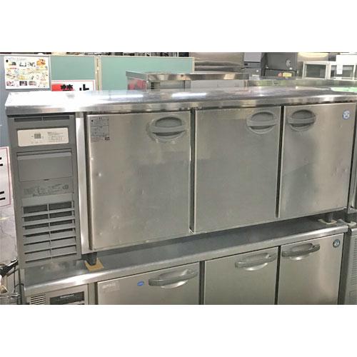 【中古】冷蔵コールドテーブル フクシマガリレイ(福島工業) YRC-180RE2 幅1800×奥行600×高さ800 【送料別途見積】【業務用】