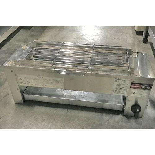 【中古】下火式焼物器 リンナイ RGK-61D 幅607×奥行210×高さ216 LPG(プロパンガス) 【送料別途見積】【業務用】