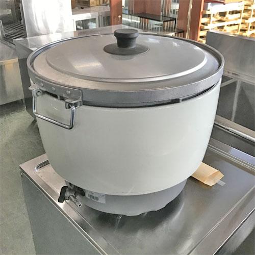 【中古】ガス炊飯器 パロマ PR-101DSS-1 幅510×奥行480×高さ395 LPG(プロパンガス) 【送料別途見積】【業務用】