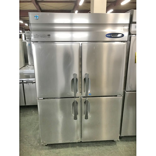 【中古】縦型冷凍冷蔵庫 ホシザキ HRF-120Z3 幅1200×奥行800×高さ1890 三相200V 【送料別途見積】【業務用】