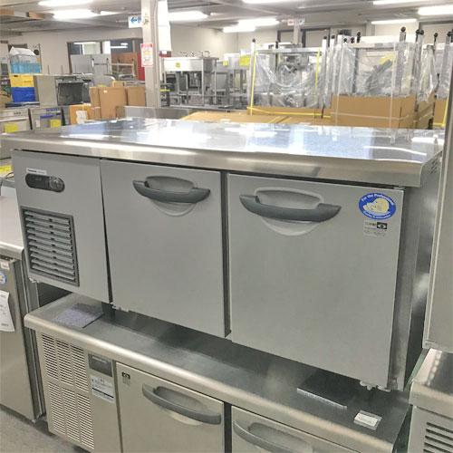 【中古】低冷蔵コールドテーブル パナソニック(Panasonic) SUR-GL1261SA 幅1200×奥行600×高さ600 【送料別途見積】【業務用】