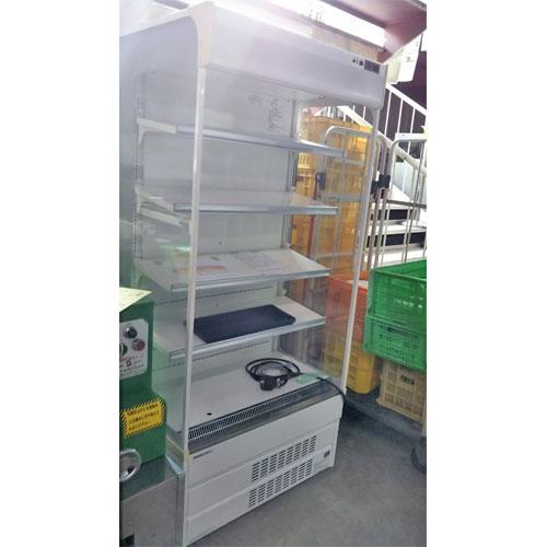 【中古】冷蔵多段オープンショーケース 三洋電機 SAR-U390N 幅900×奥行650×高さ1900 三相200V 【送料別途見積】【業務用】