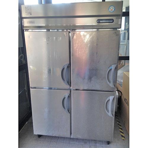 【中古】縦型冷凍冷蔵庫 フクシマガリレイ(福島工業) URN-122PM6 幅1200×奥行650×高さ1950 【送料別途見積】【業務用】