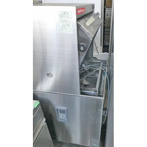 【中古】食器洗浄機 日本洗浄機 A50 幅600×奥行600×高さ1400 三相200V 【送料別途見積】【業務用】