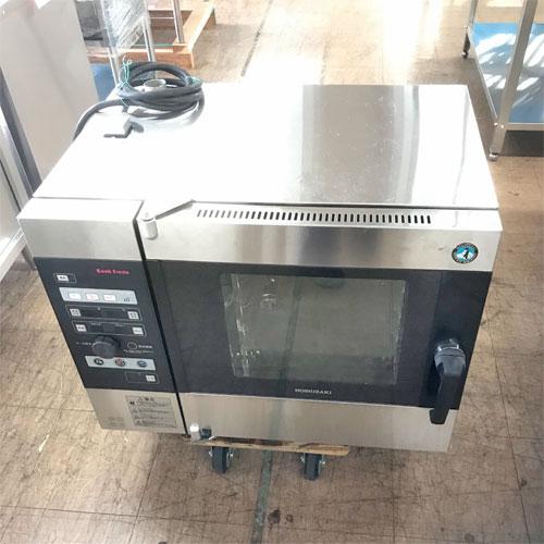 【中古】電気式スチームコンベクションオーブン ホシザキ MIC-5TB3-L 幅750×奥行560×高さ685 三相200V 【送料別途見積】【業務用】