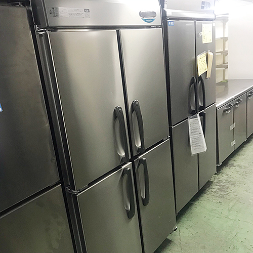 【中古】縦型冷蔵庫 ホシザキ HR-90X-ML 幅900×奥行650×高さ1910 【送料別途見積】【業務用】