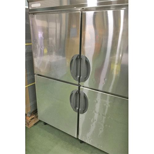 【中古】4ドア冷凍冷蔵庫 フクシマガリレイ(福島工業) URD-51PM1 幅1500×奥行800×高さ1900 【送料別途見積】【業務用】