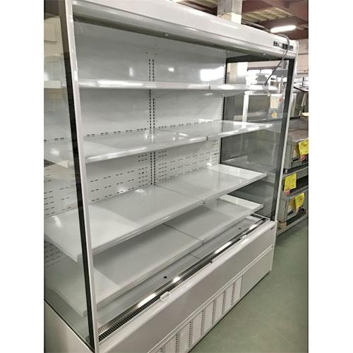 【中古】冷蔵多段オープンショーケース サンデン RSD-F6FZ4J 幅1740×奥行750×高さ1900 三相200V 【送料無料】【業務用】