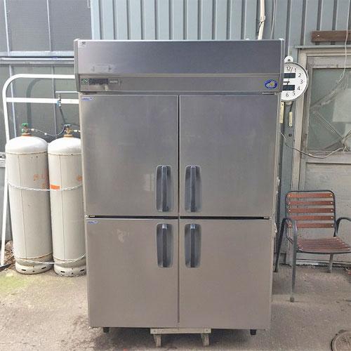 【中古】4ドア冷凍冷蔵庫 サンヨー SRR-J1261C2V 幅1200×奥行650×高さ1920 三相200V 【送料別途見積】【業務用】