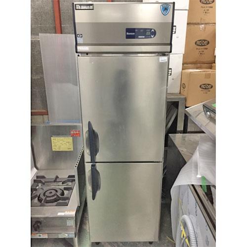 【中古】縦型冷凍庫 大和冷機 211NYCD-EC 幅600×奥行650×高さ1905 【送料別途見積】【業務用】
