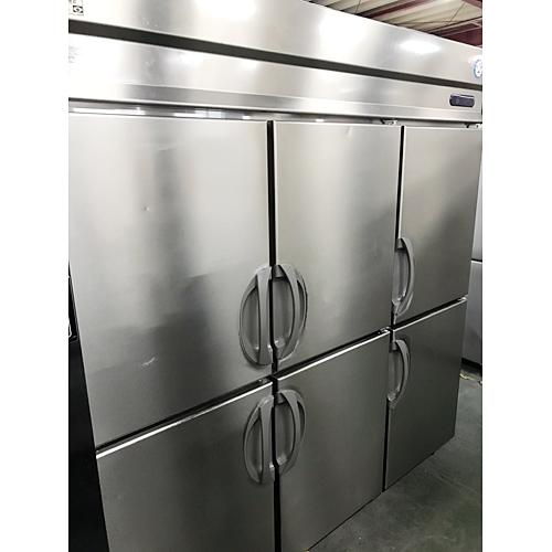 【中古】縦型冷凍冷蔵庫 フクシマガリレイ(福島工業) URN-182PMD6 幅1790×奥行650×高さ1950 三相200V 【送料別途見積】【業務用】