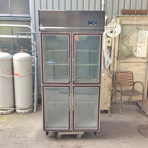 【中古】冷蔵ショーケース 大和冷機 321YDP4-EC 幅900×奥行650×高さ1905 【送料別途見積】【業務用】
