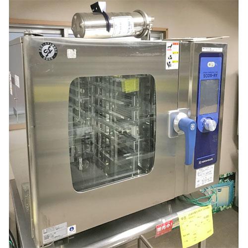 【中古】スチームコンベクションオーブン ニチワ電機 SCOS-661RY-R 幅900×奥行895×高さ790 三相200V 【送料無料】【業務用】