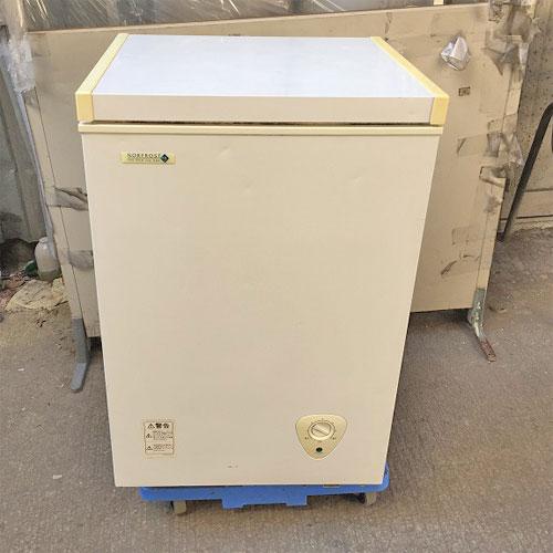 【中古】冷凍ストッカー 日本ゼネラル・アプライアンス JH94C 幅560×奥行530×高さ835 【送料別途見積】【業務用】