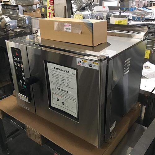 【中古】スチームコンベクションオーブン タニコー TSCO-4EBN3 幅750×奥行600×高さ540 三相200V 【送料別途見積】【業務用】