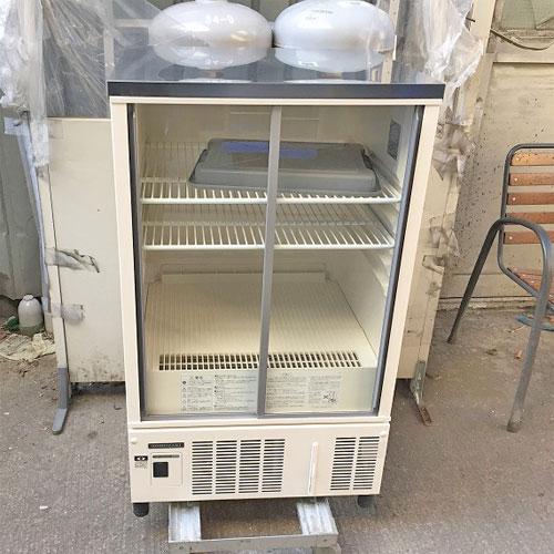 【中古】冷蔵ショーケース ホシザキ SSB-63CL2 幅630×奥行550×高さ1080 【送料別途見積】【業務用】
