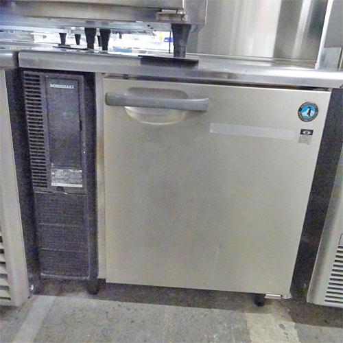 【中古】冷蔵コールドテーブル ホシザキ RT-80SNE 幅800×奥行600×高さ800 【送料別途見積】【業務用】