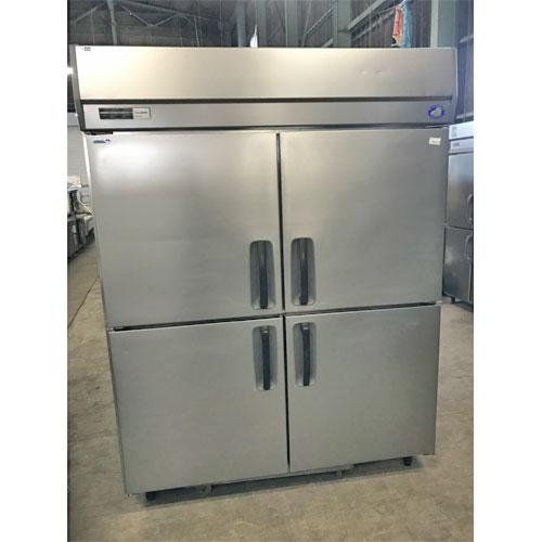 【中古】縦型冷凍冷蔵庫 パナソニック(Panasonic) SRR-K1581C 幅1500×奥行800×高さ1900 【送料別途見積】【業務用】