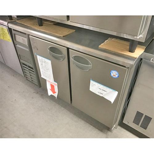 【中古】冷蔵コールドテーブル フクシマガリレイ(福島工業) YRW-120RM2-F 幅1200×奥行750×高さ800 【送料別途見積】【未使用品】【業務用】