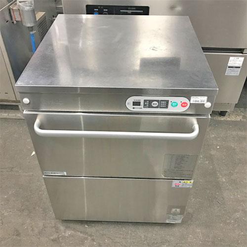 【中古】食器洗浄機 タニコー TDWC-40UE3 幅600×奥行600×高さ800 三相200V 60Hz専用 【送料別途見積】【業務用】