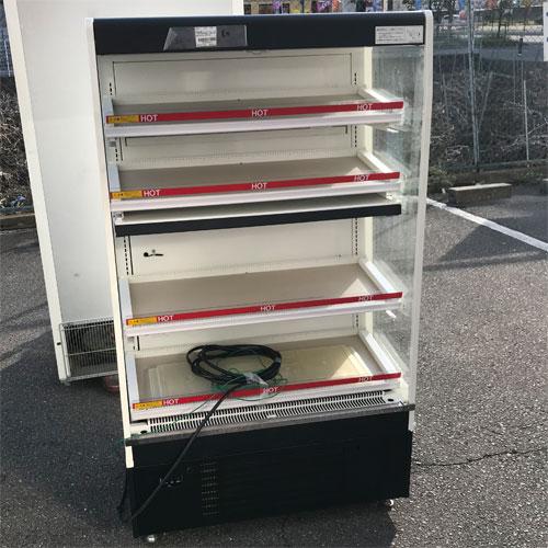 【中古】冷凍・冷蔵多段オーブンショーケース 富士電機 USCP37HA-883A1 幅900×奥行550×高さ1500 【送料別途見積】【業務用】