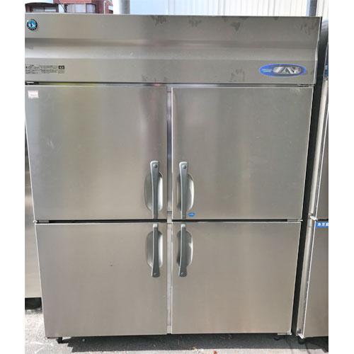【中古】縦型冷凍冷蔵庫 ホシザキ HRF-150ZT3 幅1500×奥行650×高さ1900 三相200V 【送料別途見積】【業務用】