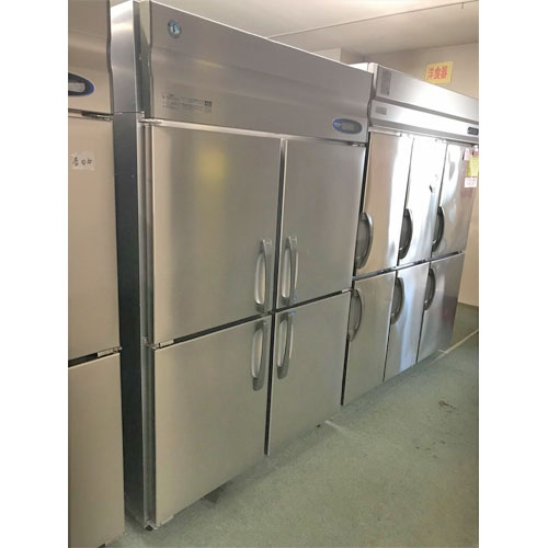 【中古】縦型冷凍冷蔵庫 ホシザキ HRF-120ZF 幅1200×奥行800×高さ1890 【送料別途見積】【業務用】