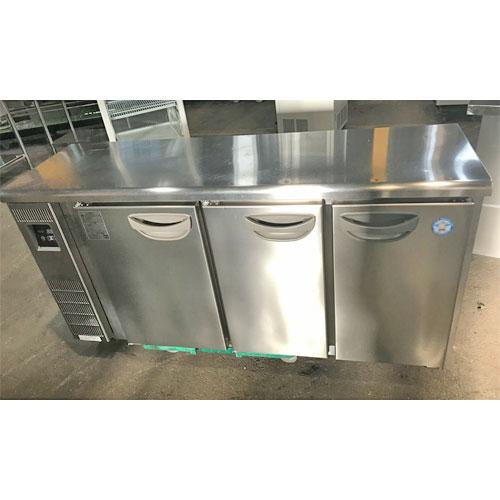 【中古】冷蔵コールドテーブル フクシマガリレイ(福島工業) TMU-50RE2 幅1500×奥行450×高さ800 【送料別途見積】【業務用】