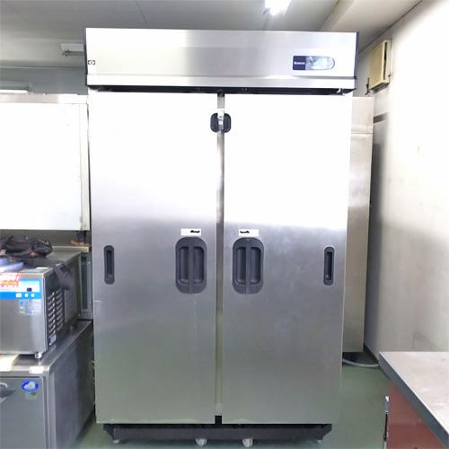 【中古】冷凍庫 スライド扉 大和冷機 403SS-S-EC 幅1200×奥行800×高さ2000 三相200V 【送料別途見積】【業務用】