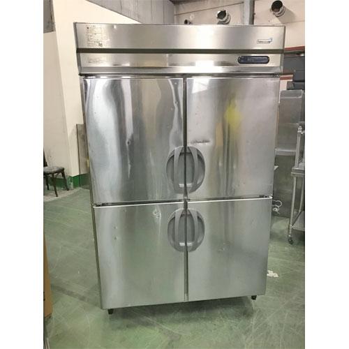 【中古】縦型冷凍冷蔵庫 フクシマガリレイ(福島工業) URD-122PMD 幅1200×奥行800×高さ1900 三相200V 【送料別途見積】【業務用】