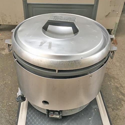 【中古】ガス炊飯器 リンナイ RR-30S2 幅480×奥行430×高さ450 都市ガス 【送料別途見積】【業務用】