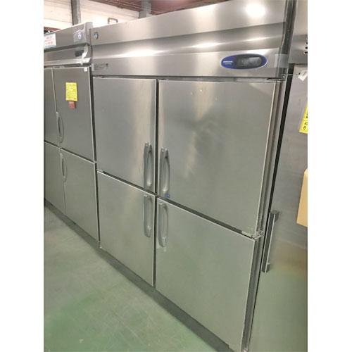【中古】縦型冷凍冷蔵庫 ホシザキ HRF-150Z3 幅1500×奥行800×高さ1890 三相200V 【送料別途見積】【業務用】