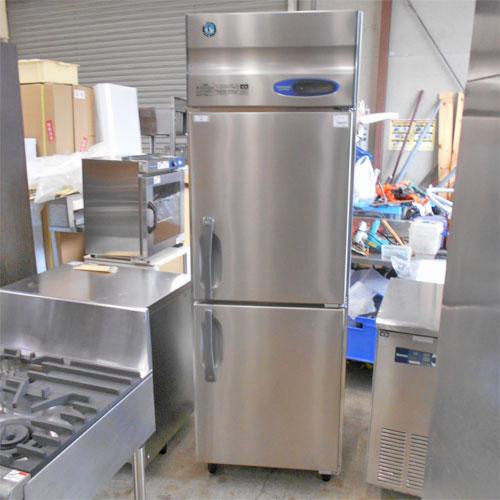 【中古】2ドア縦型冷蔵庫 ホシザキ HR-63ZT 幅630×奥行650×高さ1890 【送料別途見積】【業務用】