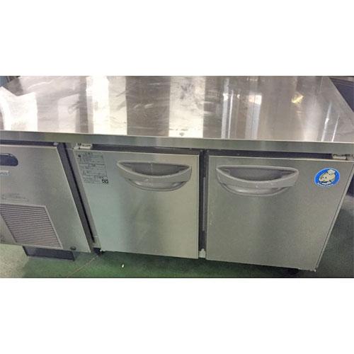 【中古】低冷蔵コールドテーブル 北沢産業 KTNC-40RM3-F 幅1200×奥行600×高さ600 【送料別途見積】【業務用】