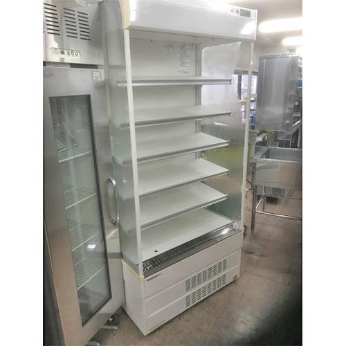 【中古】冷蔵多段オープンショーケース パナソニック(Panasonic) SAR-U390N 幅890×奥行655×高さ1900 三相200V 【送料別途見積】【業務用】