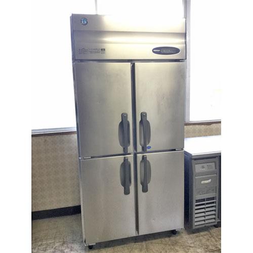 【中古】冷凍冷蔵庫 ホシザキ HRF-90ZT3 幅900×奥行650×高さ1900 三相200V 【送料別途見積】【業務用】