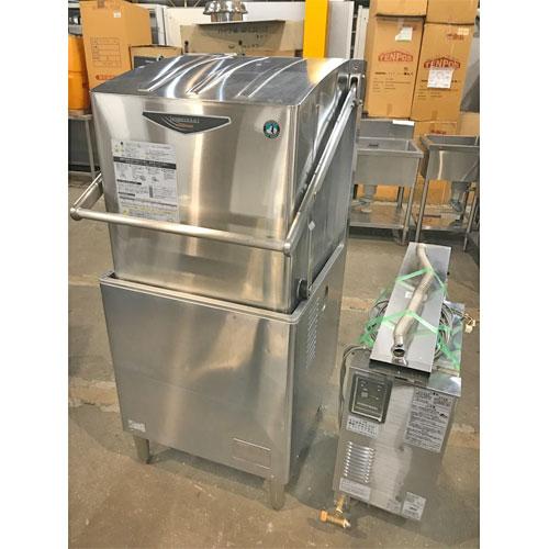 【中古】食器洗浄機 ブースター別式 ホシザキ JWE-500A 幅640×奥行655×高さ1432 60Hz専用 LPG(プロパンガス) 【送料無料】【業務用】