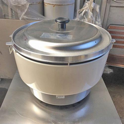 【中古】ガス炊飯器 リンナイ RR-40S1 幅525×奥行481×高さ421 都市ガス 【送料無料】【業務用】