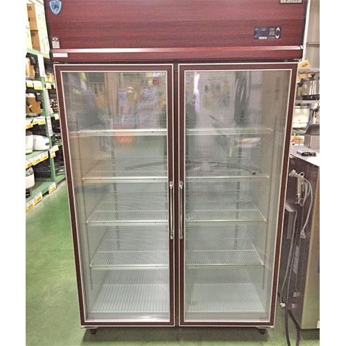 【中古】冷蔵リーチインショーケース 大和冷機 413KP-EC 幅1200×奥行800×高さ1890 三相200V 【送料別途見積】【業務用】