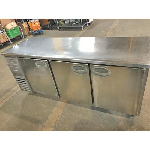 【中古】冷蔵コールドテーブル フクシマガリレイ(福島工業) YRC-180RM1 幅1800×奥行600×高さ800 【送料無料】【業務用】